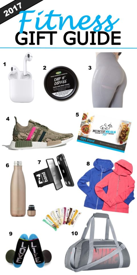 2017 Fitness Gift Guide
